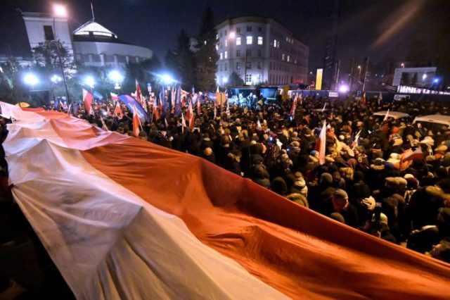 Protest in Sejm against new media regulations